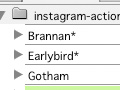 Instagram Filters as Photoshop Actions