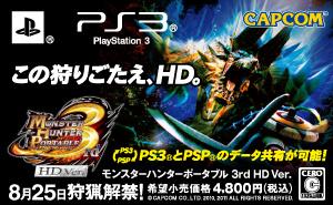この狩りごたえ、HD。 モンスターハンターポータブル 3rd HD Ver.