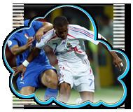 EURO2008 Qualifying Round GroupB Italy vs France