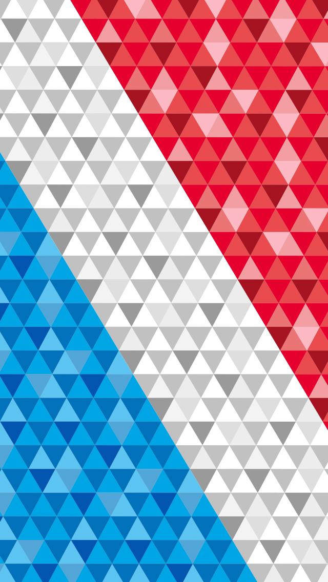 2014 横浜F・マリノス iPhone壁紙 第1弾 #1 Tricolore