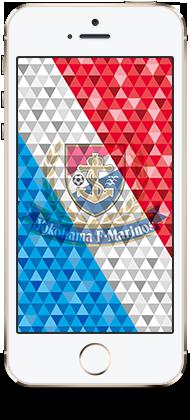 2014 横浜F・マリノス iPhone壁紙 第1弾 3