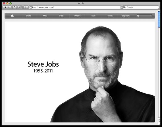 Apple - Remembering Steve Jobs