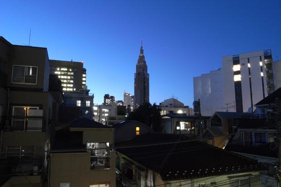 台風一過の東京の空