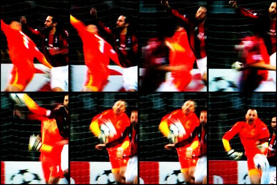 10-11 UEFA Champions League Round of 16 1st Leg Milan vs Tottenham 2