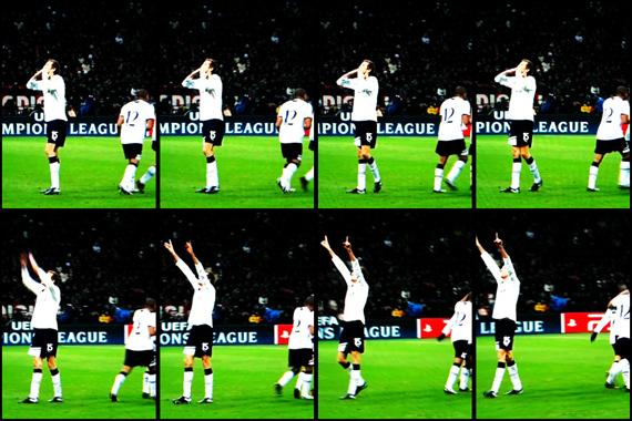 10-11 UEFA Champions League Round of 16 1st Leg Milan vs Tottenham 3