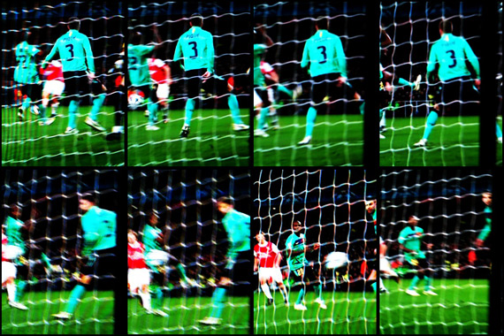10-11 UEFA Champions League Round of 16 1st Leg Arsenal vs Barcelona 5
