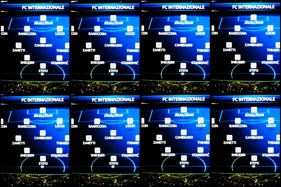 10-11 UEFA Champions League Round of 16 1st Leg Inter vs Bayern