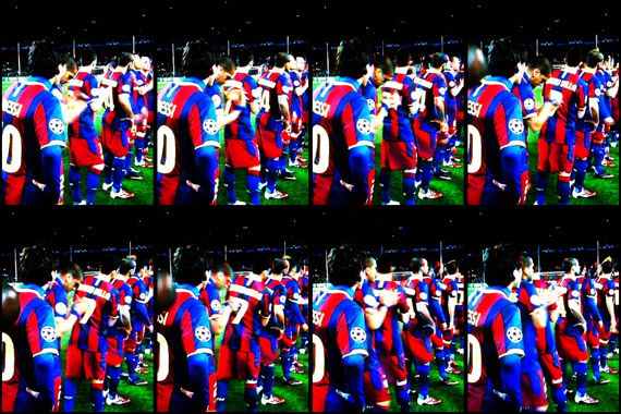 10-11 UEFA Champions League Round of 16 2nd Leg Barcelona vs Arsenal 2