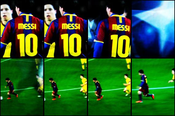 10-11 UEFA Champions League Round of 16 2nd Leg Barcelona vs Arsenal 4