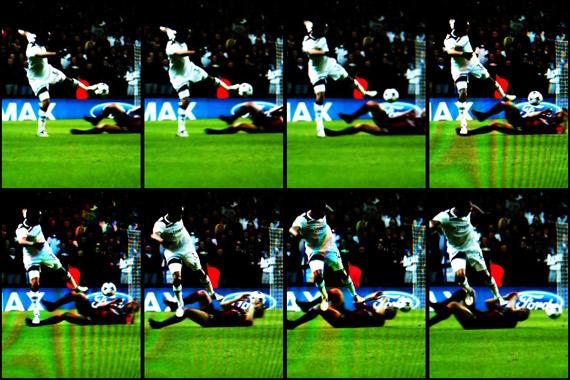 10-11 UEFA Champions League Round of 16 2nd Leg Tottenham vs Milan 2