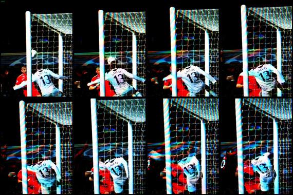 10-11 UEFA Champions League Round of 16 2nd Leg Tottenham vs Milan 3