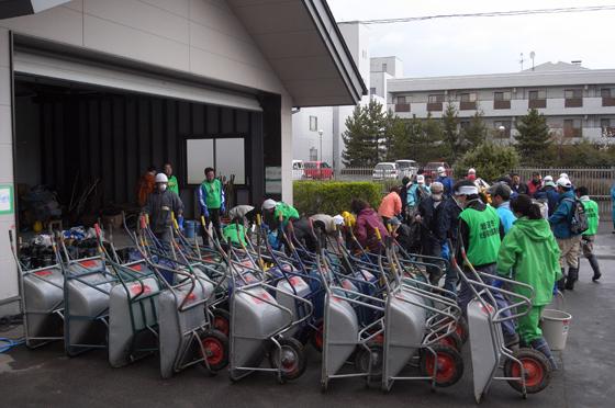 宮城県岩沼市で災害ボランティアに参加してきました 10