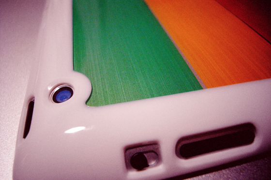 LIM'S Rainbow Hard Case For iPad 2 5