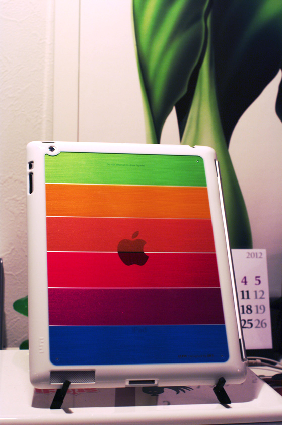 LIM'S Rainbow Hard Case For iPad 2 7