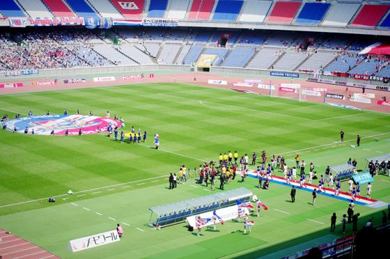 2012 Jリーグ ディビジョン1 第10節 横浜F・マリノス vs コンサドーレ札幌 観戦 7