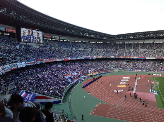 2012 Jリーグ ディビジョン1 第10節 横浜F・マリノス vs コンサドーレ札幌 観戦 10