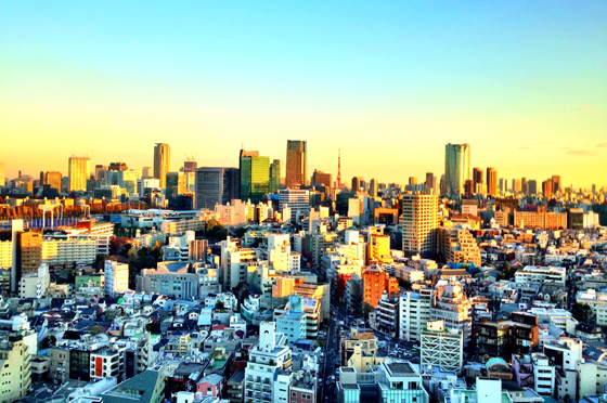 iPhone4Sで撮った神宮前オフィス(18F)からの眺め 7