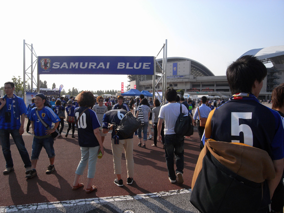 2014 FIFAワールドカップブラジル アジア最終予選 SAMURAI BLUE vs オーストラリア代表 5