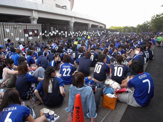 2014 FIFAワールドカップブラジル アジア最終予選 SAMURAI BLUE vs オーストラリア代表 7